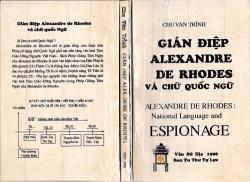 Gián Điệp Alexandre De Rhodes Và Chữ Quốc Ngữ